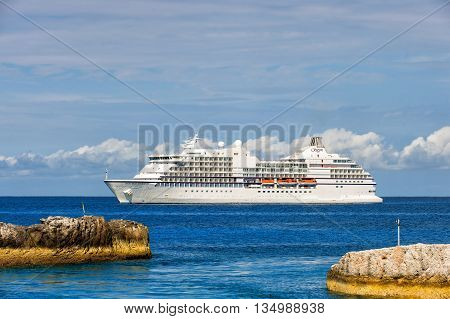 Big Luxury Cruise Ship Seven Seas Navigator