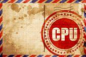 cpu poster