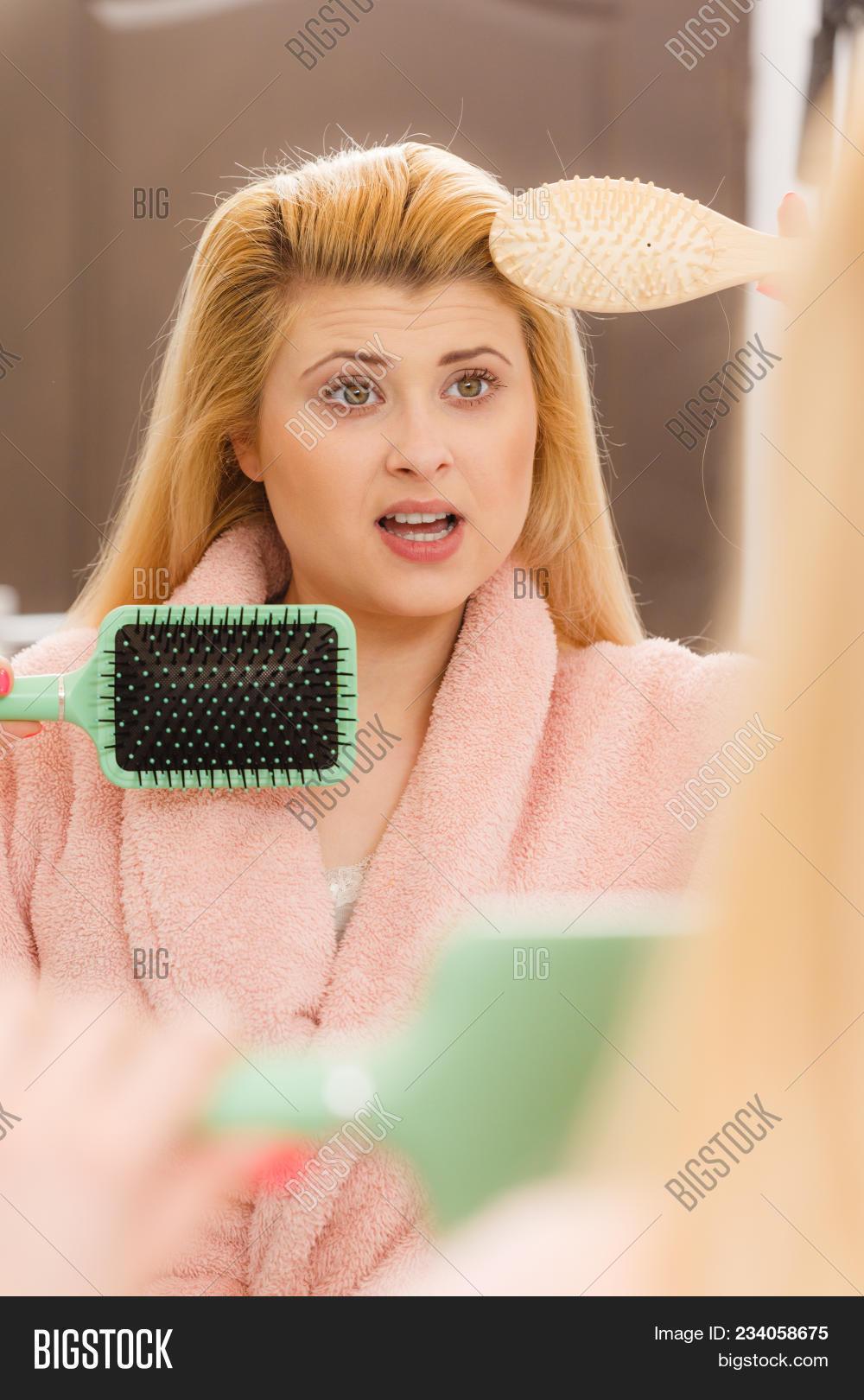 Woman Wearing Dressing Image & Photo (Free Trial) | Bigstock