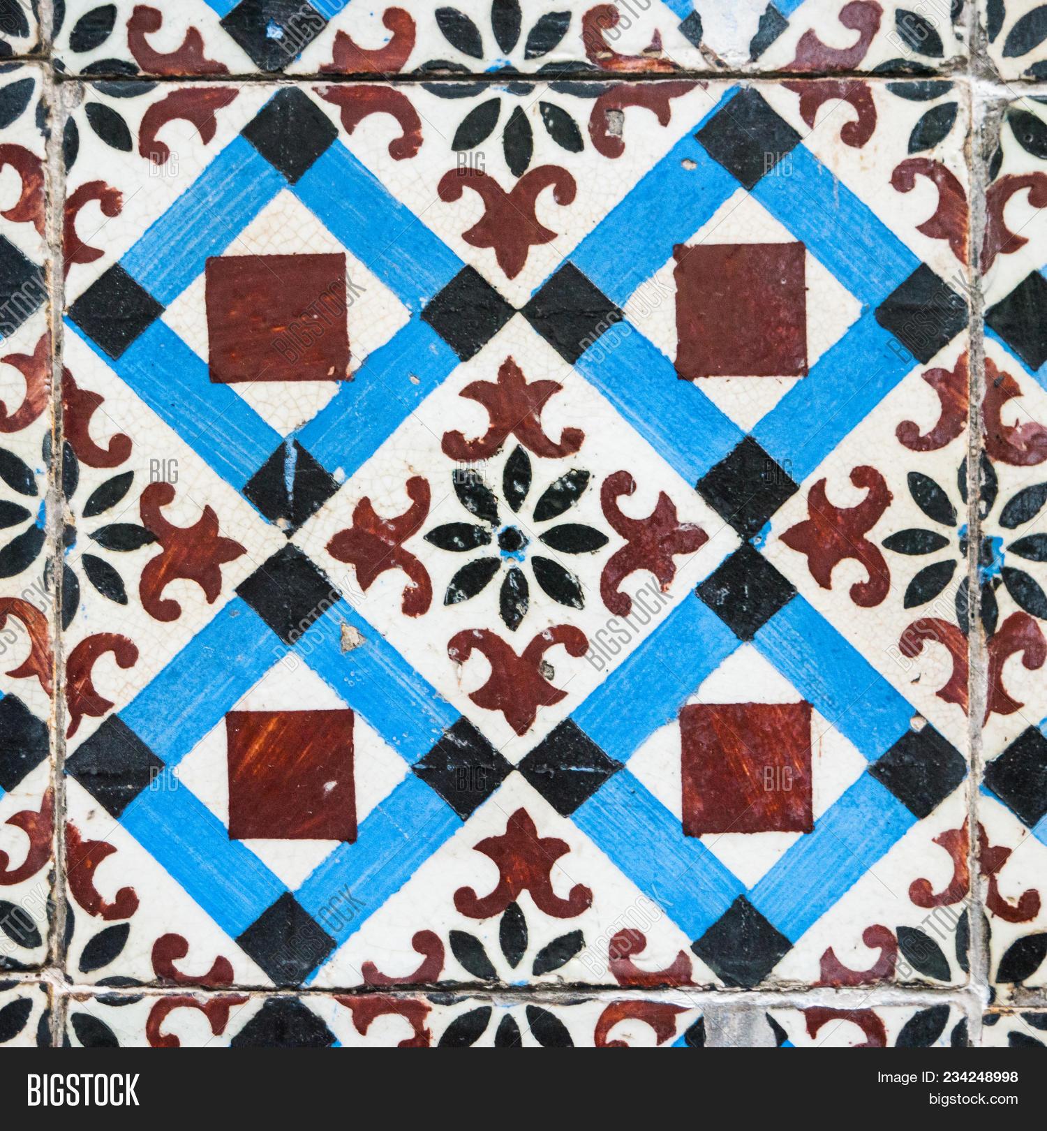 Old Ceramic Tiles Image Photo Free Trial Bigstock