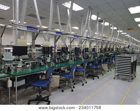 Automation Machine In Modern Manufacturing.