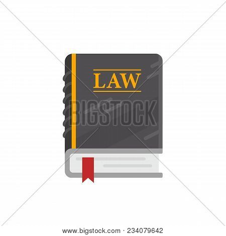 Multi-page Book Of Laws Used In Court, Lawyers And Judges. Concept Of Justice, Equality, Balance, Le