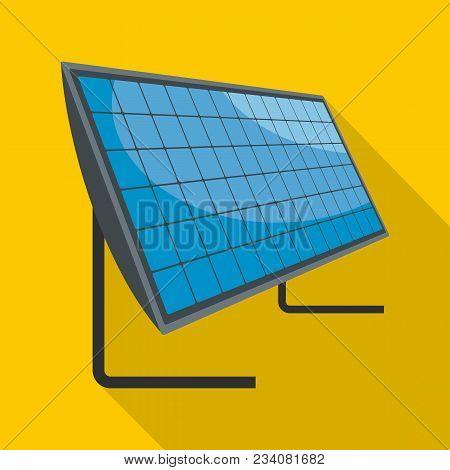 Energy Generation Icon. Flat Illustration Of Energy Generation Vector Icon For Web