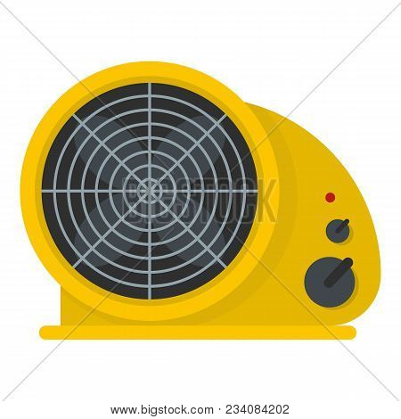 Table Fan Icon. Flat Illustration Of Table Fan Vector Icon For Web