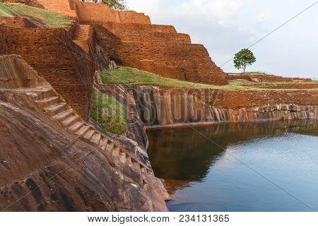 Beautiful Scenic View Of Natural Landmark With In Asia, Sri Lanka, Sigiriya