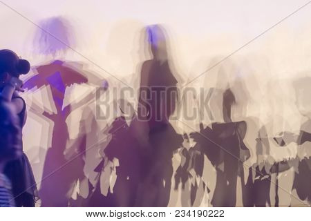 Abstract people shapes