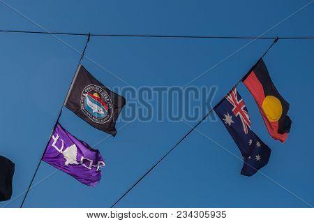 Adelaide, Au - April 2, 2018: Mv Steve Irwin, Flagship Of The Sea Shepherd Conservation Society, Moo