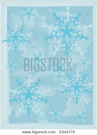 Snowflake Background.Eps