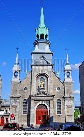 Notre-dame-de-bon-secours Chapel Chapelle Notre-dame-de-bon-secours, Our Lady Of Good Help, Montreal