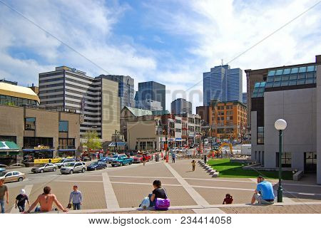 Montreal - May 4, 2009: Place Des Arts Is Home To The Montreal Symphony Orchestra, Les Grands Ballet