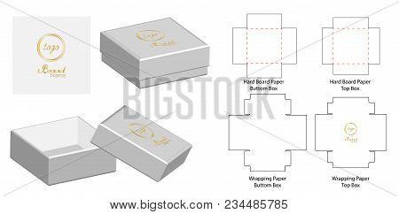 box packaging die cut vector photo free trial bigstock