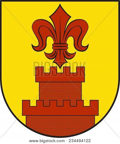 Coat Of Arms Of Wachtendonk Is A Municipality In The District Of Kleve In North Rhine-westphalia, Ge