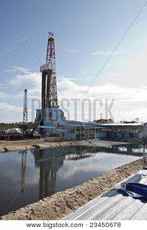 Rig For Drilling Of Well