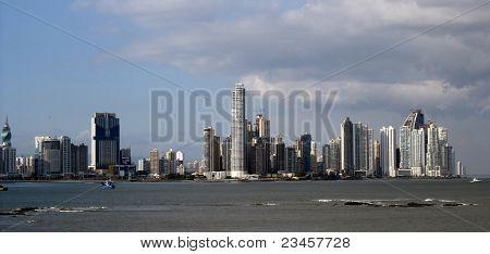 Panama - modern Panama city panorama