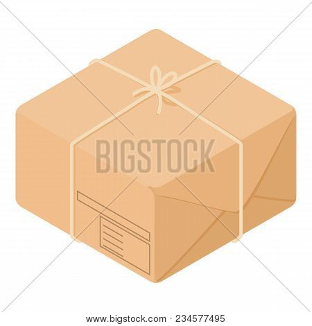 Post Box Icon. Isometric Illustration Of Post Box Vector Icon For Web