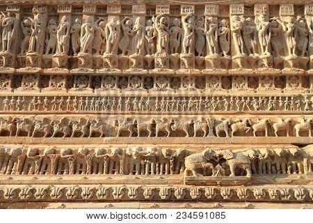 Jagdish Temple Stone Carvings, Udaipur, Rajasthan, India
