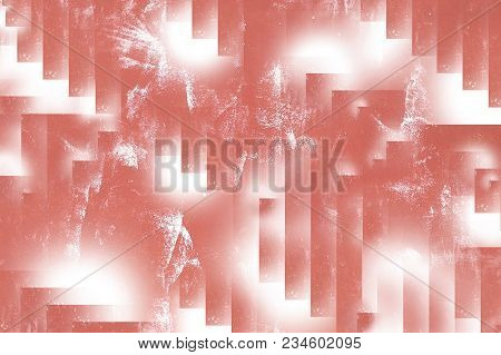 Red And White Splash Background For Use In Website Background, Cover Design, Book , Cd, Advertising