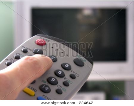 Remote And Tv