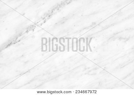 White Carrara Marble Natural Light For Bathroom Or Kitchen White Countertop. High Resolution Texture