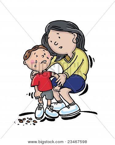 Child Hurting .