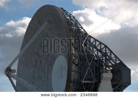 Large Satellite Antenna