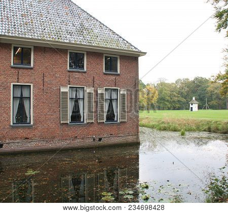 Havezate Mensinge From The 14th Century In The Village Roden. The Netherlands