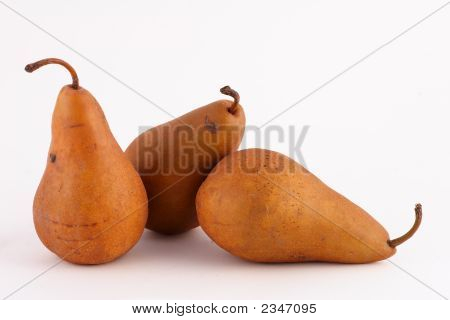 The Three Amigo Pears