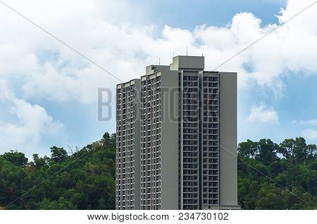 High Rise Condominiums & Residential Building At Kota Kinabalu,sabah,borneo.sabah Is One Of The Mala
