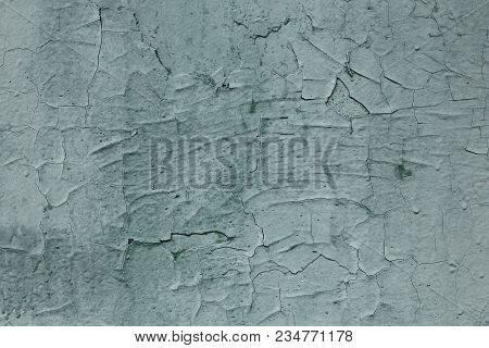 Abstract Of Vintage Blue Wall Grunge Texture