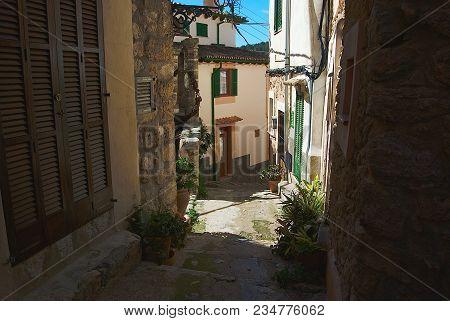 Bunyola Street Village 2, Majorca, Balearic Islands, Spain