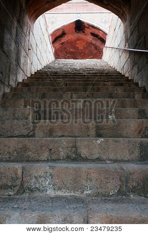 Humayun's Tomb Stairs, Delhi, India