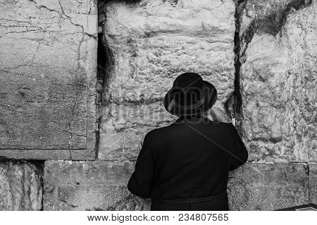 Western Wall Jerusalem Is Also Called The Wailing Wall Or Wall Of Weeping. It Is One Of The Holiest