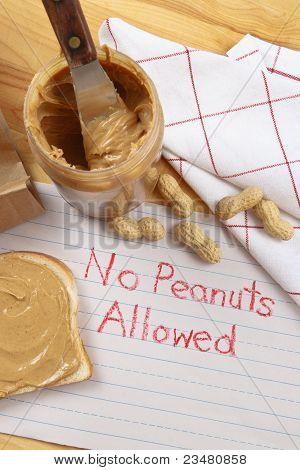 Peanut Warning
