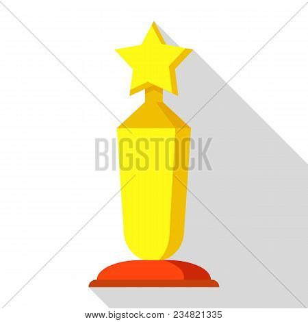 Award Ceremony Icon. Flat Illustration Of Award Ceremony Vector Icon For Web