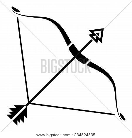 Srong Bow Icon. Simple Illustration Of Srong Bow Vector Icon For Web