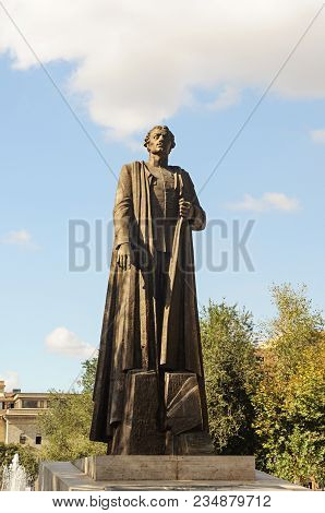 Yerevan, Armenia - October 05, 2017: Monument To Garegin Ter-harutyunyan, Better Known As Garegin Nz