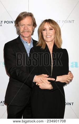 LOS ANGELES - APR 5:  William H Macy, Felicity Huffman at the