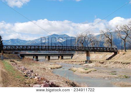 Twin Bridges / Views From Near Colorado Springs, Colorado