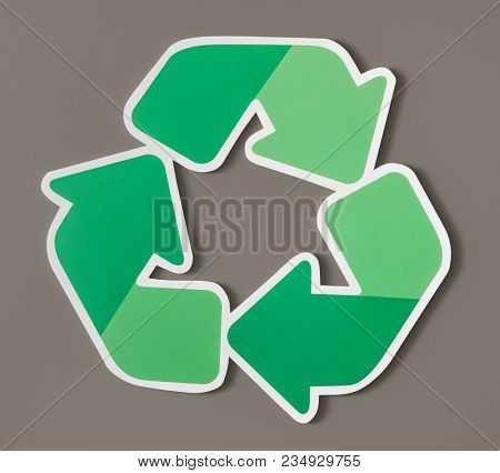 Reduce reuse recycle symbol icon
