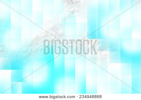 White With Blue Abstract Texture Background Stone And Paper Art Style For Use In Design Book, Poster