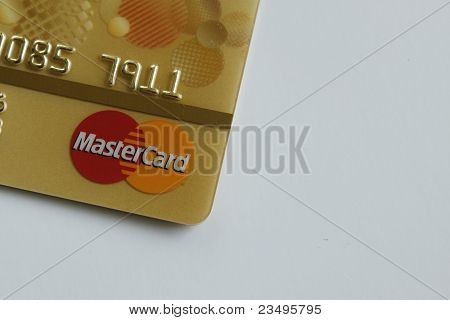 Yellow Maste Card