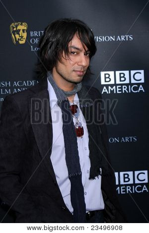 LOS ANGELES - SEP 17:  Vik Sahay arrives at the 9th Annual BAFTA Los Angeles TV Tea Party. at L'Ermitage Beverly Hills Hotel on September 17, 2011 in Beverly Hills, CA