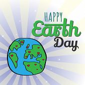 Earth Day. Eco friendly ecology concept. World environment day background. Save the earth. Green day. poster