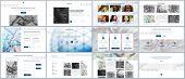 Set of vector templates for website design, minimal presentations, portfolio. Simple elements on white background. Templates for presentation slides, flyer, leaflet, brochure cover, annual report. poster