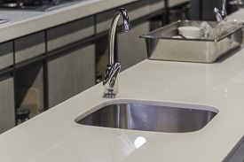 The Modern Kitchen Faucet With Led Light.