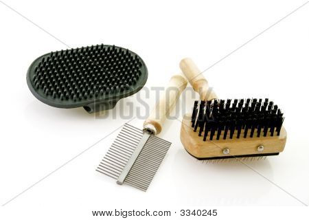 Dog Brushing Tools