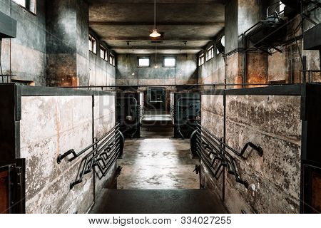 The Crematorium At The Jewish Cemetery In Terezin, Czech Republic