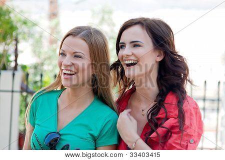 Two women tourists