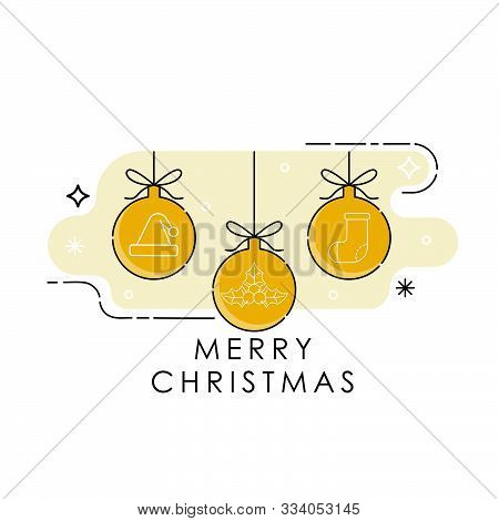 Christmas. Christmas Balls. Christmas Balls Vector. Christmas Balls Icon. Christmas Balls Background. Christmas Balls Vector illustrations. Christmas Balls logo. Gift Box illustrations. Christmas Balls for party, present, Christmas. Christmas Balls vector