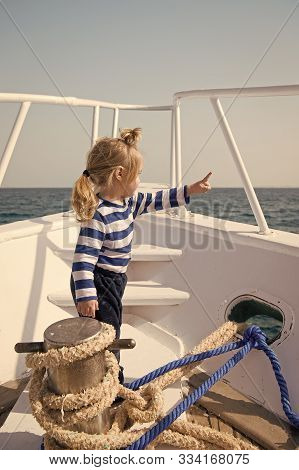 Beach Is Calling And We Must Go. Baby Boy Enjoy Vacation Sea Cruise Ship. Child Sailor. Boy Sailor T